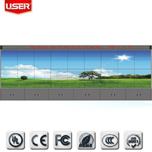 Seamless 4x9 lcd video wall LED backlight 1920x1080 HDMI/DVI/VGA/AV/YPBPR LTI550HN08