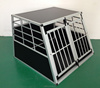 hot sell alu double-door dog cage for 7years