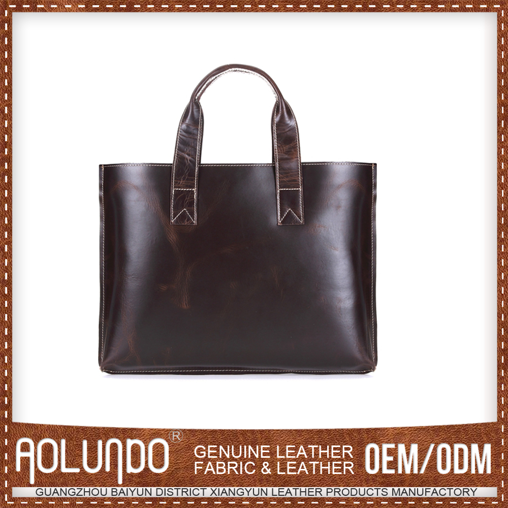 Wholesale Simple Style Customized Oem No Brand Italian Leather Handbags