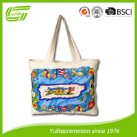Factory selling print canvas shoulder bag