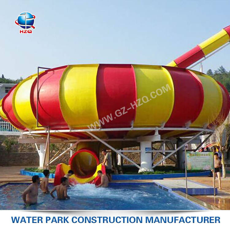High configuration 12m Typical Height swimming pool with water slides wholesale