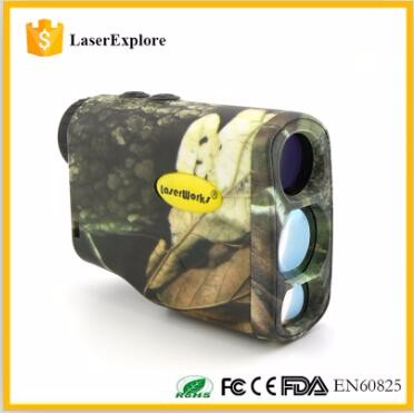 2017 Hotsale LaserWorks Air Gun rifle scope 700m hunting equipment OLED riflescope laser rangefinder