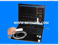2014 hot sale PC BASED FINGER PULSE OXIMETER WITH USB+SOFTWARE