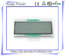 6-digit 8-character E ink LCD display EDS809-1, TN segment LCD screen with decimal point