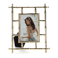 cardboard photo frame display zinc alloy photo frame with magnet back magnetic photo picture frame