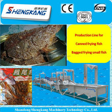 Fried fish processing line /fish frying equipment