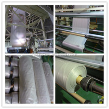 Clear poly sheeting rolls