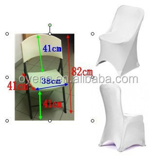 folding spandex lycra chair covers