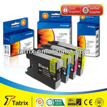 LC980/1100BK C M Y ink cartridges,Compatible LC980/1100BK C M Y Ink for Brother LC980/1100 Inkjet Cartridge top quality