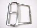 Car accessories ABS Chrome center console bright trim car decoration stickers for Ford explorer parts