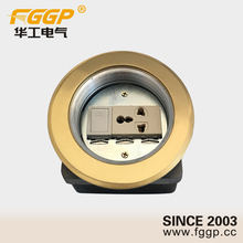 New import screw type water proof ip44 10a 13amp 250v multiple floor mounted switched outlet socket