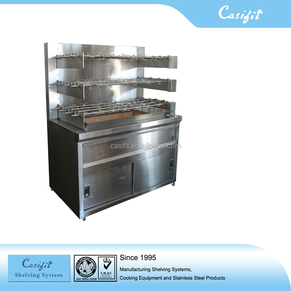 Roast Chicken Charcoal bbq Spit Rotisserie Machine Cheap Price