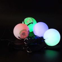 Amazon best selling led flashing bouncing ball with multi-color light Express Alibaba