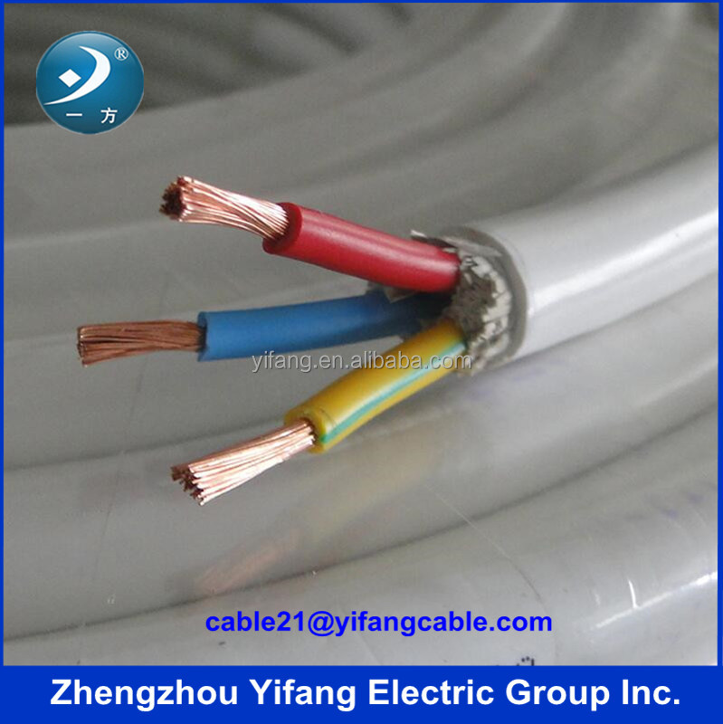 18 awg 3x1.5 electric cable for 300/500V or 450/750V