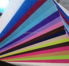 Recyclable colored shopping bag material PP spunbond non woven fabric