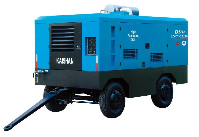 Airman diesel driven portable air screw compressor