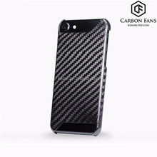 100% pure Carbon Fiber mobile phone back cover for Apple Carbon Fiber iPhone 7 cover, 7 plus back cover