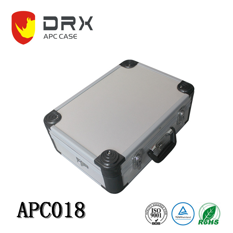 Aluminum Metal Hard Carrying Travel Case Briefcase Tool Case