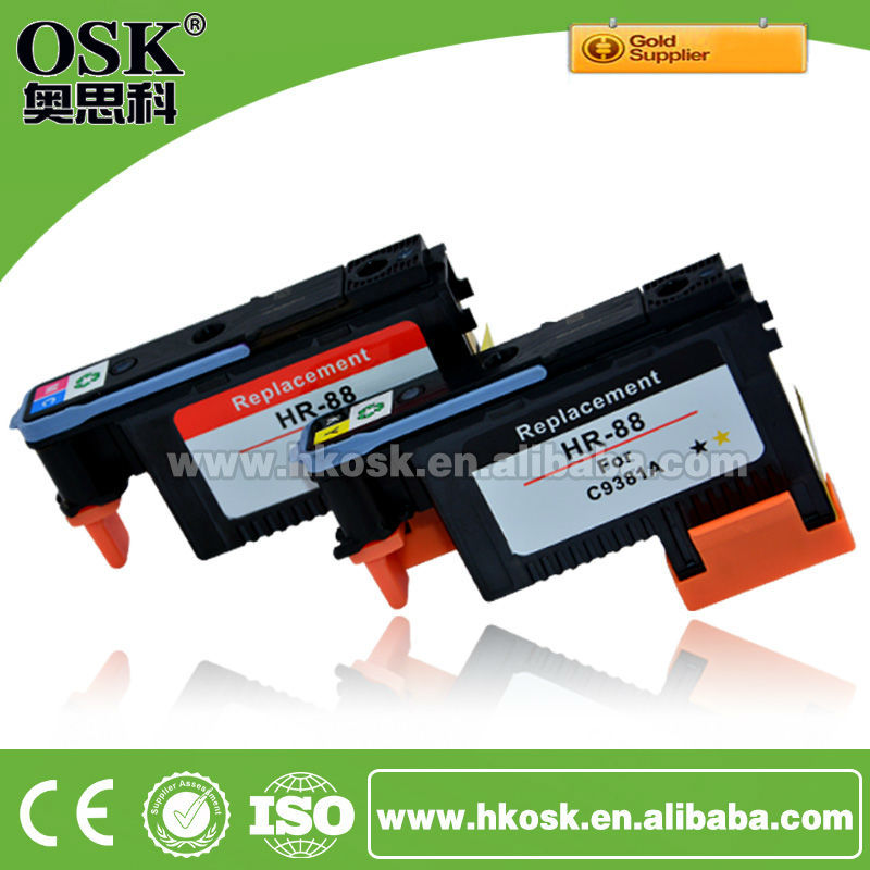 88 Printhead for HP C9382A C9381A Inkjet Cartridge Printhead