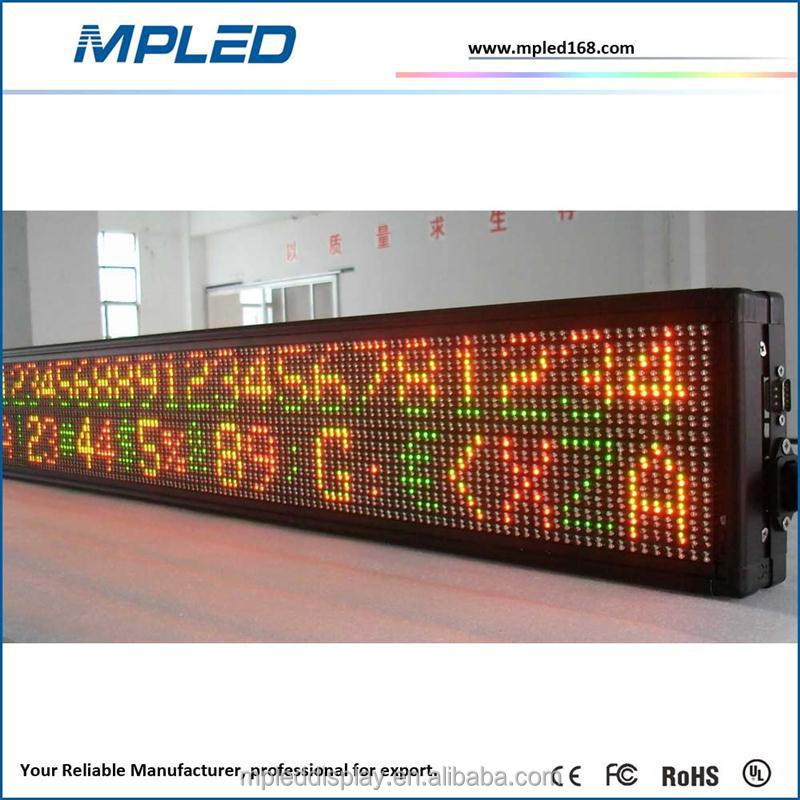 2015 cheap solar power outdoor led sign