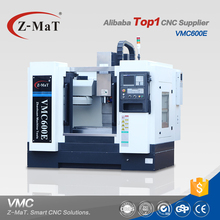 Top manufacturer 3 axis VMC600E high speed smart cnc vertical machining center