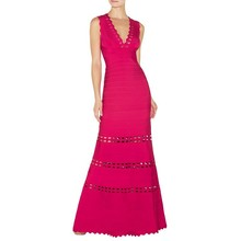 2014 pink dress collection red maxi long red carpet evening bandage dress