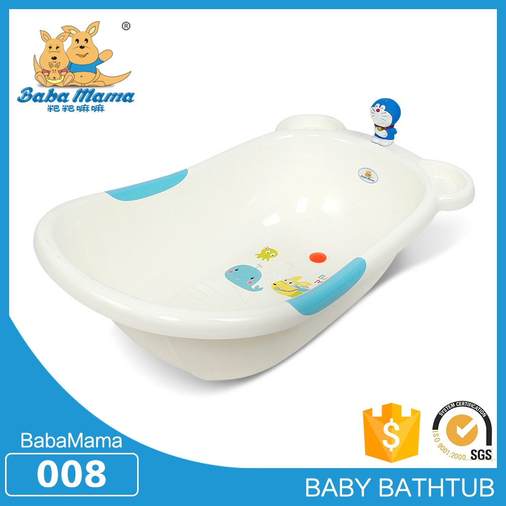 Plastic bathtub for baby kids tub town bath