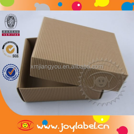 Customized logo print cardboard boxes for glasses
