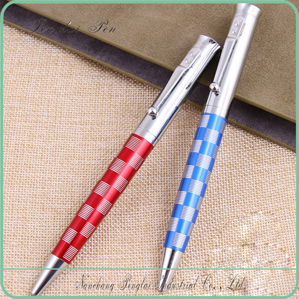 2017 Jiangxi Penglai manufacturer made Metal logo custom full stainless pen