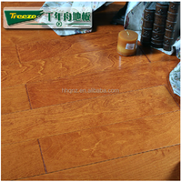 Smooth Canadian Hard Maple Engineered Wood Flooring manufacurer China