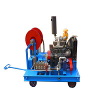 High pressure water line and road marking removal Cleaning machine for sale