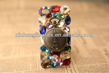 NEW Crystal Diamond Watch BLING Hard Case Phone Cover For iphone 5/5s, Samsung Galaxy Note II 2