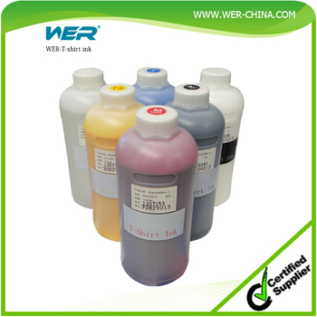 2016 water based textile pigment ink for direct cotton t for Water based t shirt printing