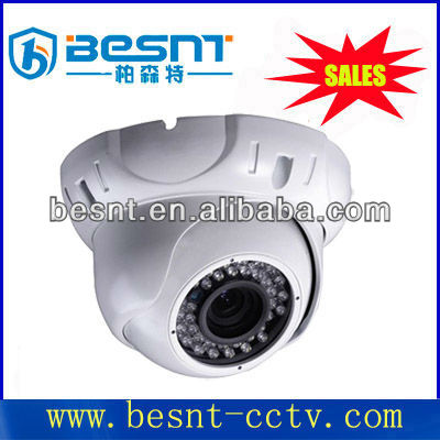 420tvl explosion proof security camera 24pcs led SONY CCD security cctv dome camera BS-6012S