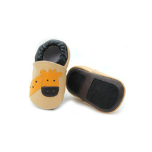 Animal Pattern Mepiq Baby Shoes Soft Leather Italian Baby Shoes