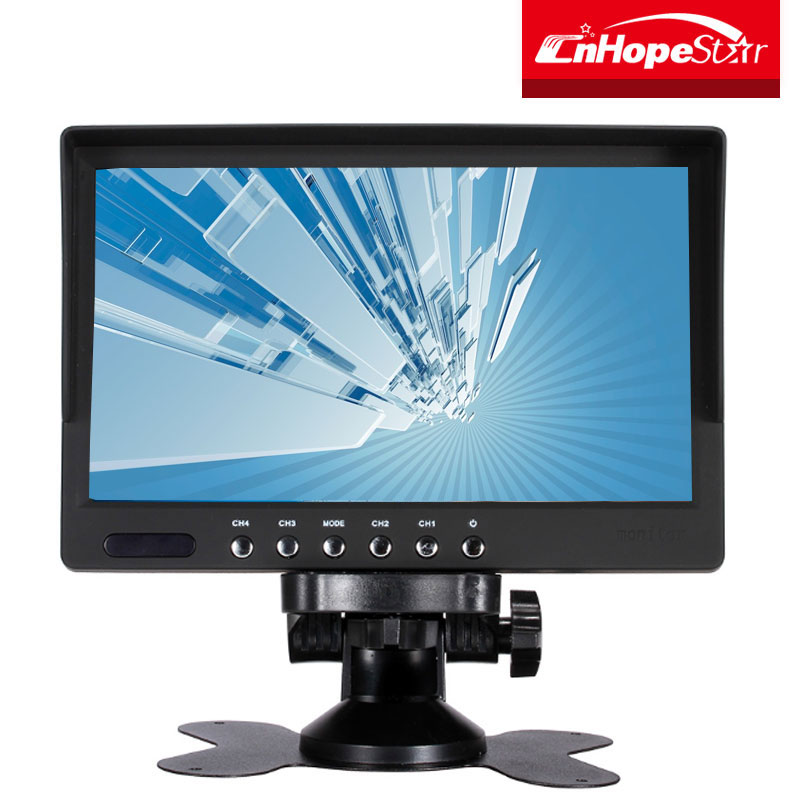 In high quality 7 inch vga dvi usb multi touch screen monitor