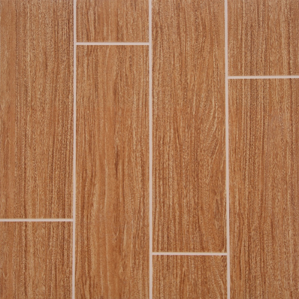 Wood Pattern Clear Plastic Flooring Tile