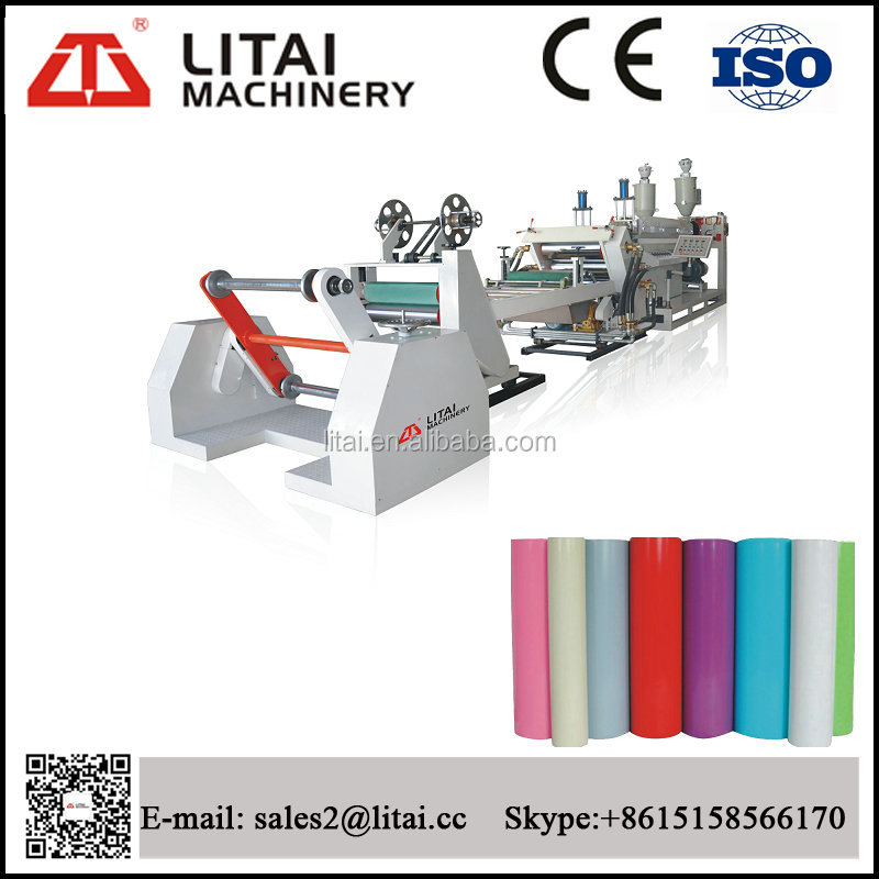 Two Layers Double Station pp/ps plastic sheet extruder