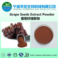 95% 98% Proanthocyanidins natural grape seed extract powder for grape seed extract capsule