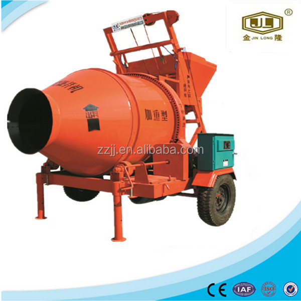 gravity type concrete mixer machine construction wood JZC350