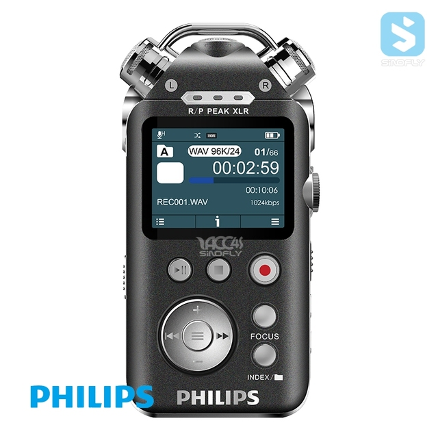 Philips VTR8800 High quality Mini 8G USB Digital Voice Recorder