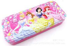 etangular Shape Colorful Customed Tin Pencil Case For Promotion