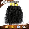 full cuticle unprocessed one donor kinky curly micro bead hair extension