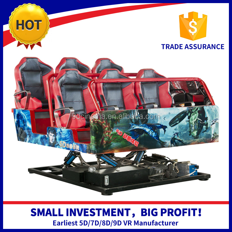 Hydraulic / Electric System 5D/7D/8D/9D/Xd 2/4/6/8/12 Seats 4D 5D 6D 7D 8D Cinema