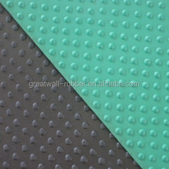 Anti-Slip Rubber Product-Small Stud Rubber Flooring Mat Used For Hotels And Gyms