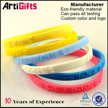 Good quality silicone bulk cheap wristbands for men