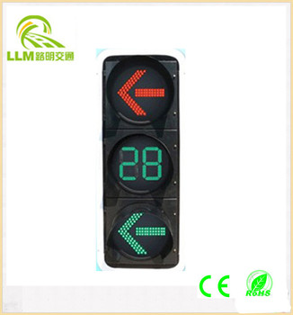 Outstanding 800mm high visible distance discount price led traffic signal light