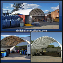 40FT Container Used Steel Single Truss Waterproof Container Shelter