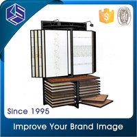 Large size wall tiles display rack tile showroom display