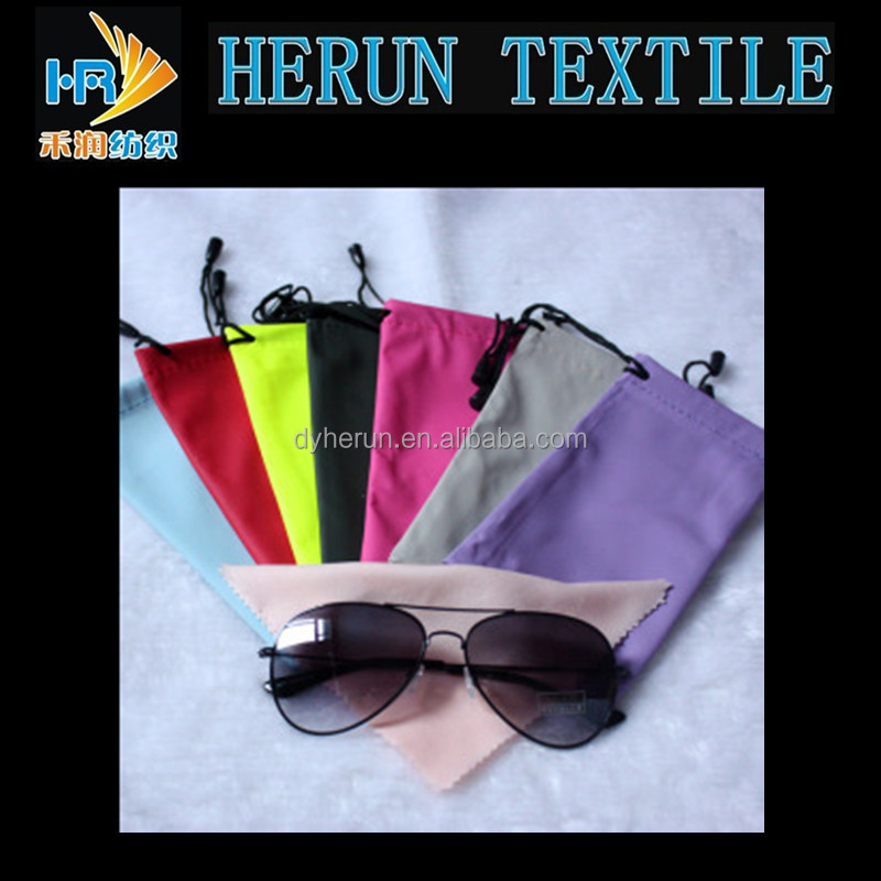 170gsm sunglasses cord cloth pouches
